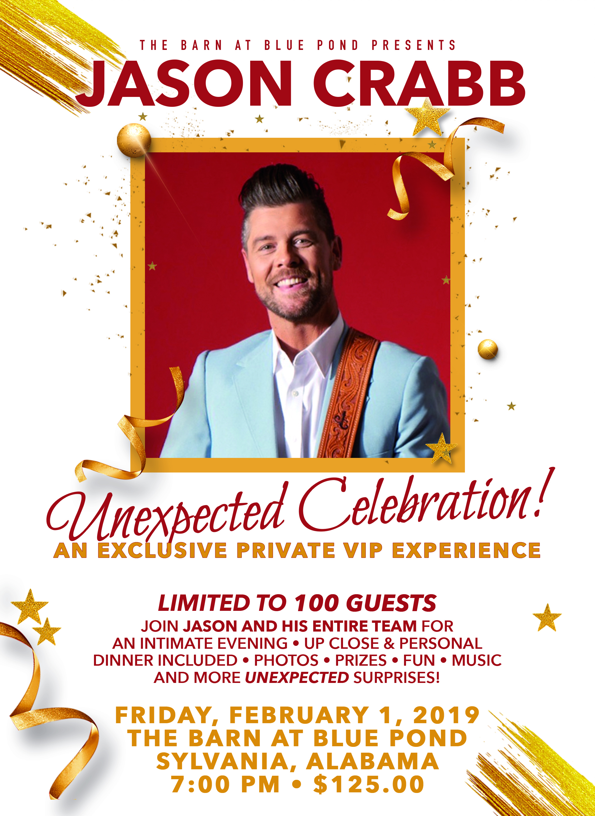 Jason Crabb Unexpected Celebration