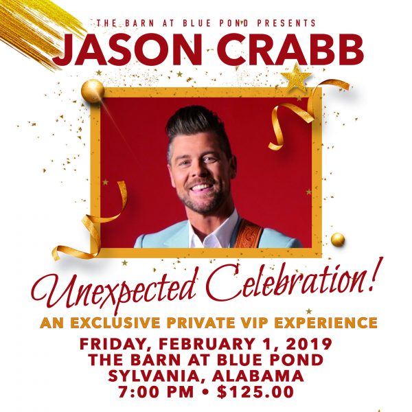 Jason Crabb Unexpected Celebration
